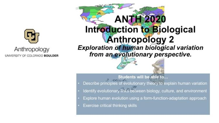 ANTH 2020 Promo Slide with map, cells and Skelton