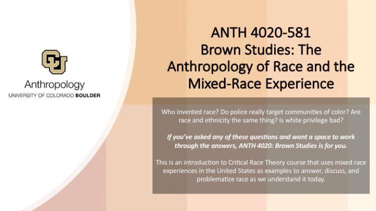 ANTH 4020-581 Brown Studies Promo Slide