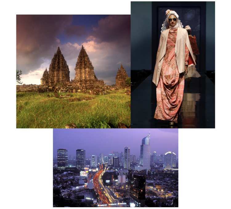 Image collage of Southeast Asia