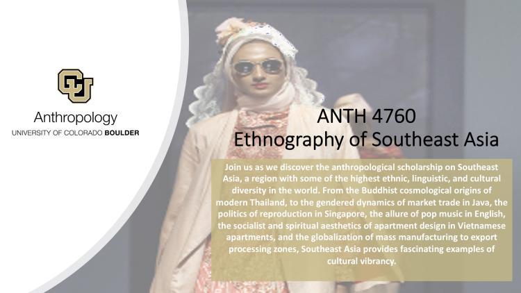 ANTH 4760 Information Slide