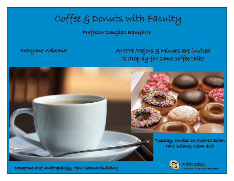 Coffee with Faculty