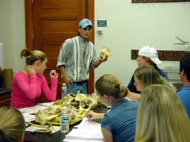 Larry's Physical Anthropology Lab (Photo/Jeff Ferguson)