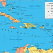 ANTH 1115 Caribbean in post-colonial perspective map