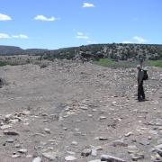Ortman in the field