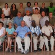 Sponheimer and colleagues at a workshop in South Turkwell, Kenya.