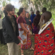 Students Meeting with Locals in Tanzania