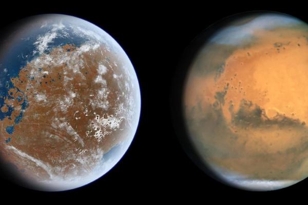 Mars Water Escape