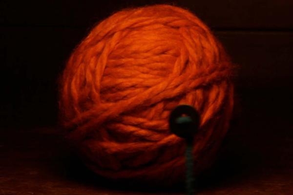 Star made of Yarn