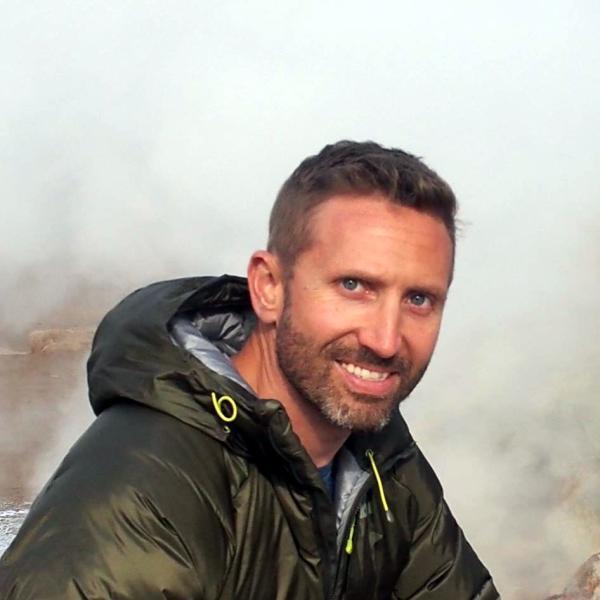 Paul Hayne in Iceland
