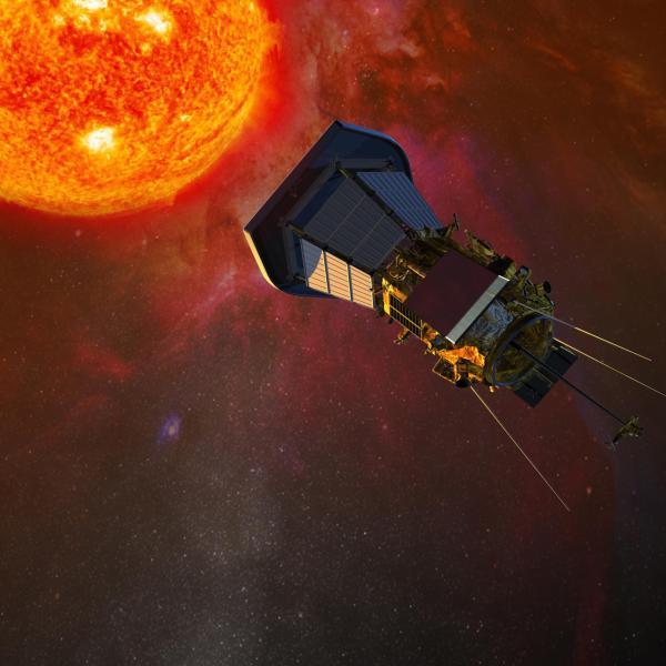Solar Probe Plus concept art
