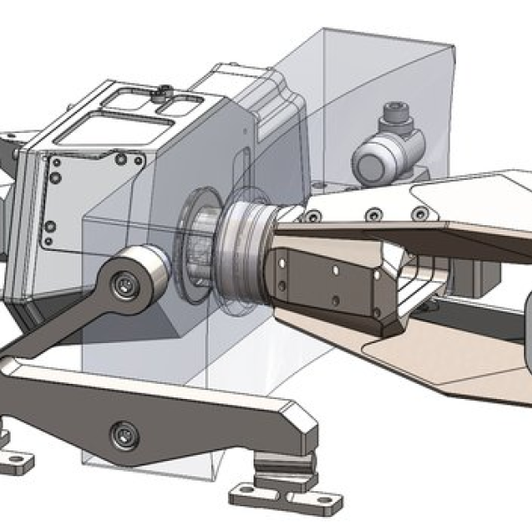 CAD model of the SPRITE telescope system