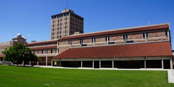 Duane Physics and Astrophysics Building, with Gamow Tower