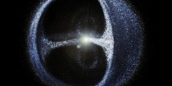 Artist's concept of the Oort Cloud