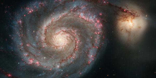 Whirlpool Galaxy NGC-5195