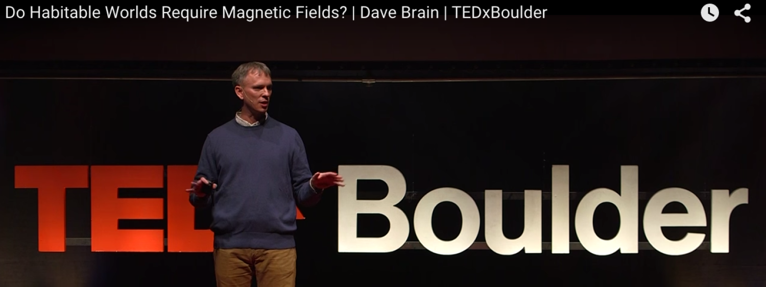 Dave Brain at Tedx in Boulder