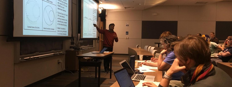 Sonal Jain discusses Mars' upper atmosphere