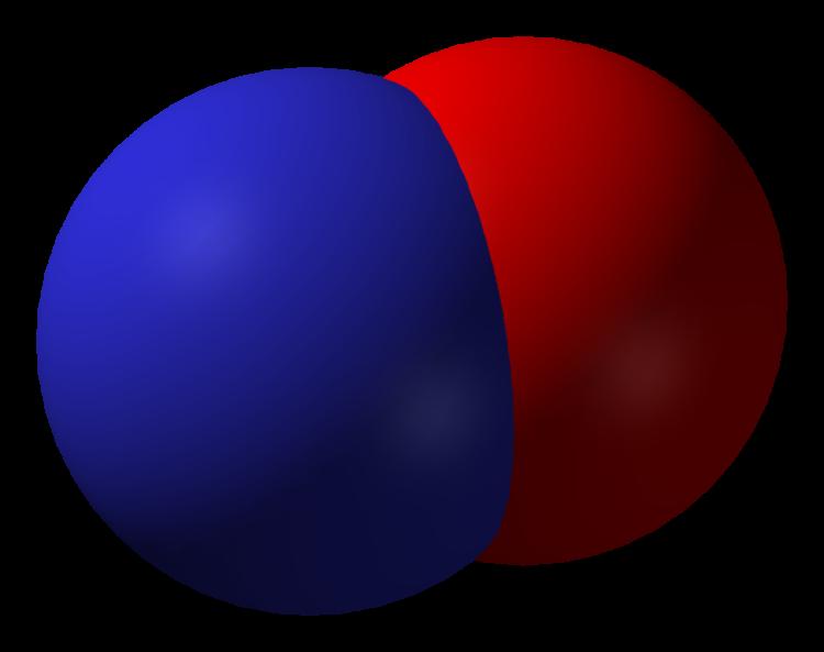 Nitrogen Oxide Molecule