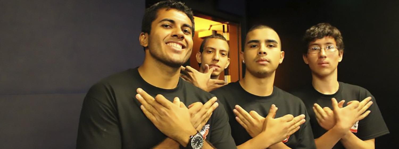 three AQUETZA Scholars