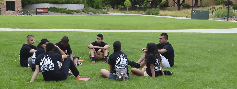 AQUETZA scholars circle at CU Boulder