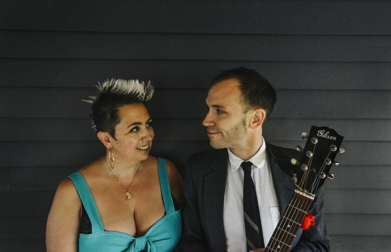 Jeremiah Lockwood and Jewlia Eisenberg at Chautauqua