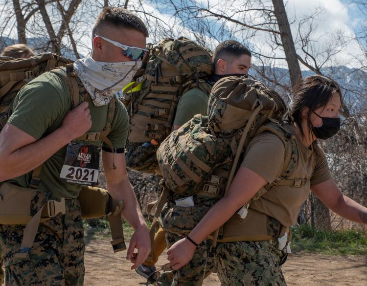 Midshipmen from the CU Navy ROTC also participated in the local event.