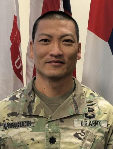 Photo of Lieutenant Colonel Bryce Kawaguchi