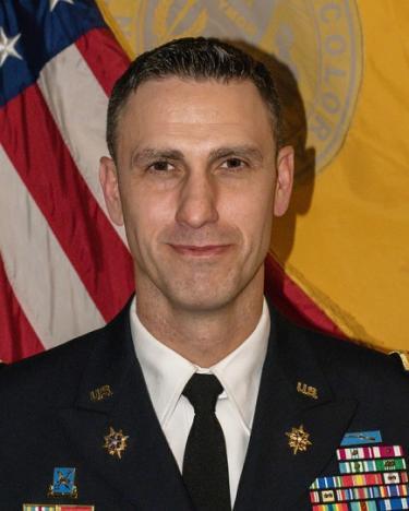 Photo of Lieutenant Colonel Mark Van Gelder