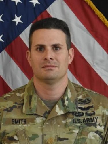 Photo of Major Aaron Smith