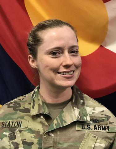 Photo of Major Jenn Staton