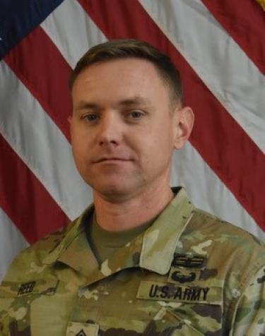 Photo of Master Sergeant Evan Reed