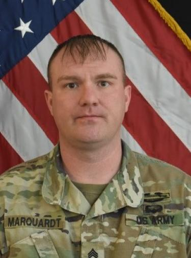 Photo of Sergeant First Class Kevin Marquardt