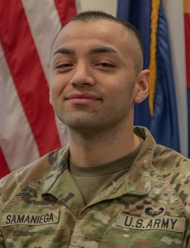 Photo of Staff Sergeant Jiovanni Samaniega