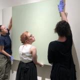 Aubrey Hobart installation artwork