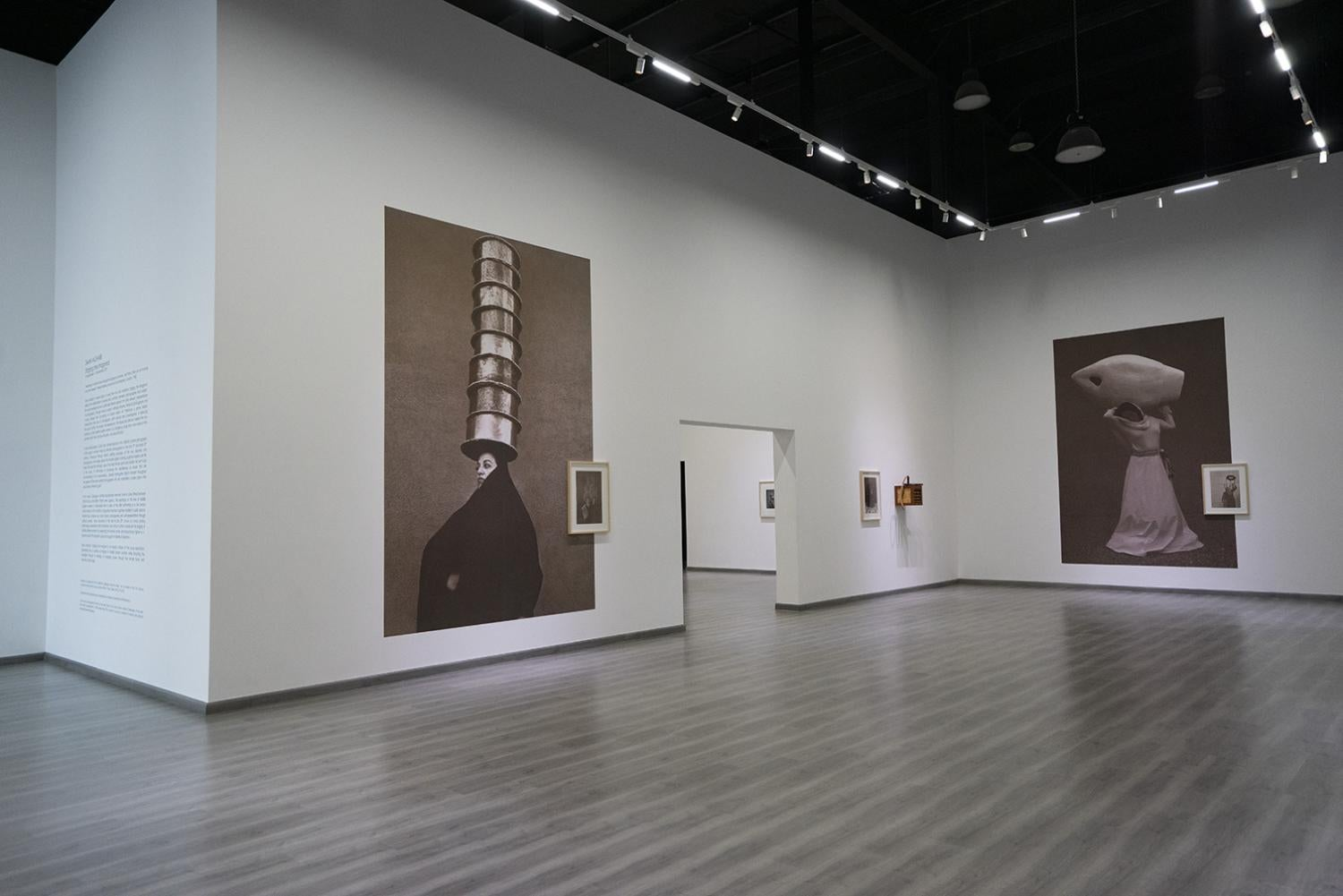 Staging the Imagined solo exhibition at Ayyam Gallery, Dubai, 2019