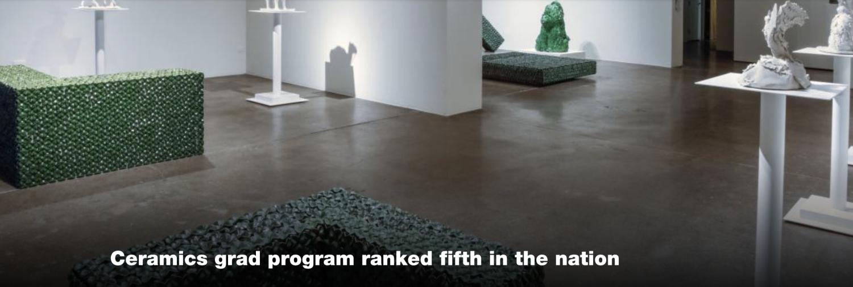 CU Ceramics program in the news, image of CU Art Museum