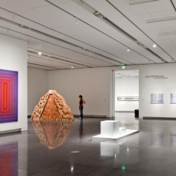 CU Art Museum exhibtions