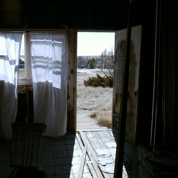 """""""Yours, Ours, Mine,"""" Curtains and abandoned windows, 2019-present"""