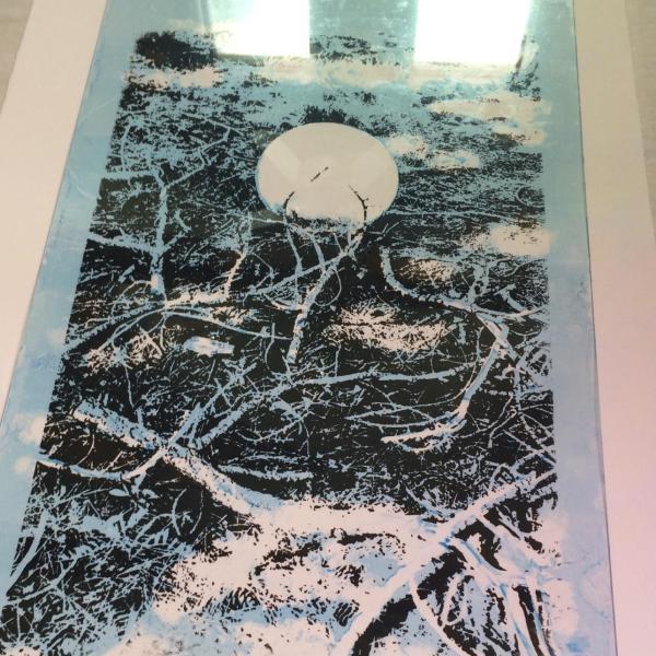 Floor Press, Plexiglass Plate