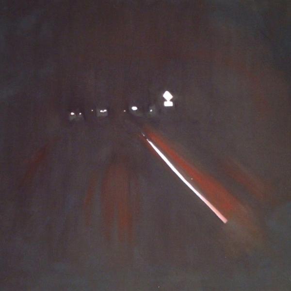 "Heather Hanson. ""Heading Back,"" Oil on canvas. 18""x24"". 2019"