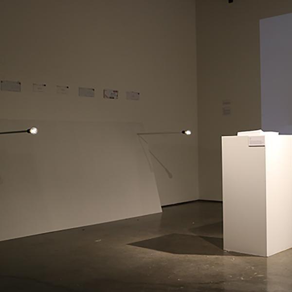 Sentences on Time, 2019 (exhibition view)