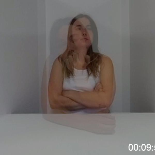 """15 minutes?,"" video. 2019 (Sentences on Time exhibition)"