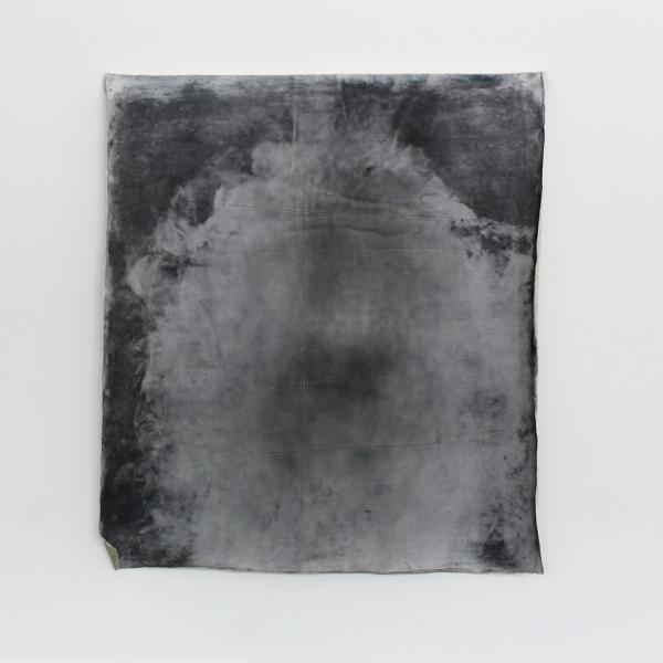 """Sleep Drawing,"" Graphite on canvas 5' x 5' 2019"