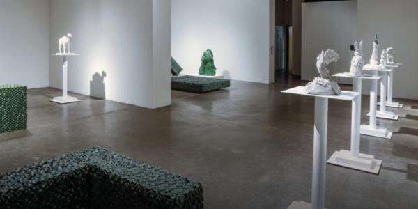 Museum exhibition of ceramics