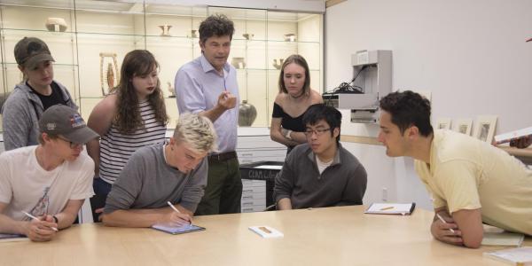Kirk Ambrose teaching at CUAM