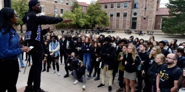J. Fitzgerald Pickens II, Past President, Black Student Alliance, CU Boulder