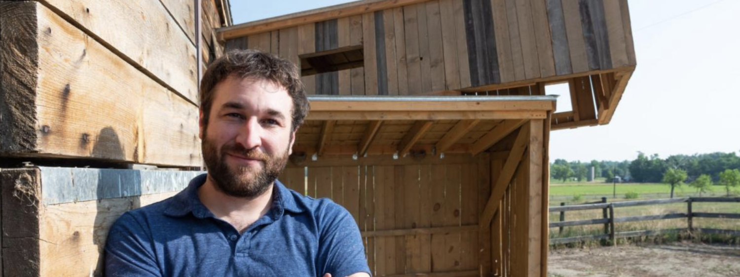 Aaron Treher, lecturer in the Department of Art and Art History, developed a novel approach to conservation that's part site-specific artwork and part structure to entice the birds into making it their home.