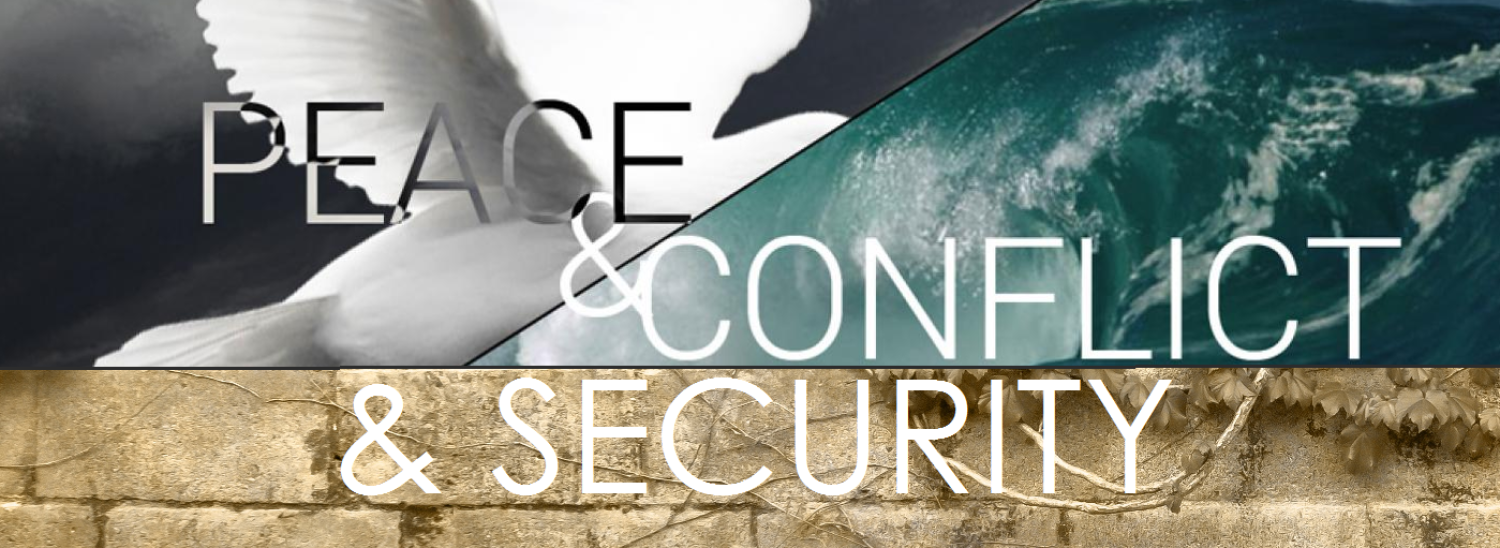 New Peace, Conflict & Security Image