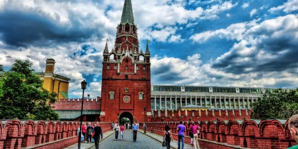 Photograph of the Kremlin building
