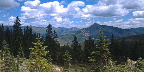Landscape photo of the western United States.