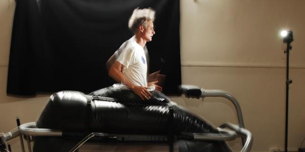 Photograph of some movement research.